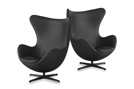 Sonderedition des Egg Chairs von Fritz Hansen