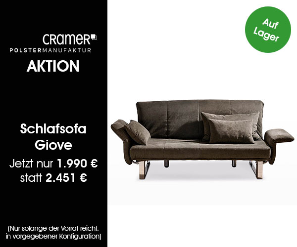 aktionen aktuelle design m bel angebote und mehr cramer m bel design. Black Bedroom Furniture Sets. Home Design Ideas