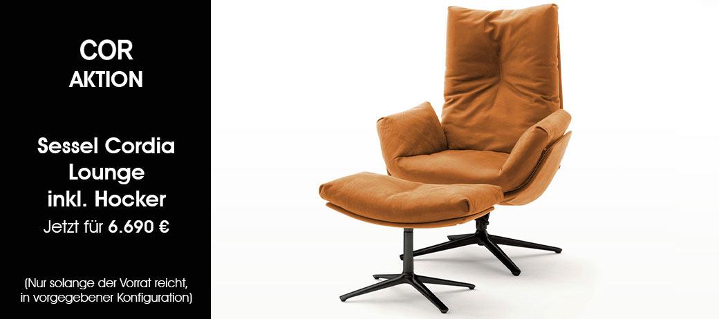 Sessel Cordia Lounge Von Cor Jetzt Zum Aktionspreis Cramer Mobel Design