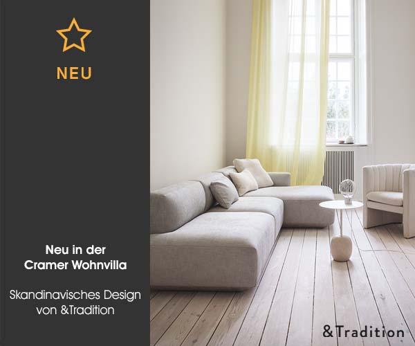neu in der cramer wohnvilla skandinavisches design von. Black Bedroom Furniture Sets. Home Design Ideas