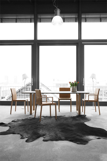 st hle baltas von kff cramer m bel design. Black Bedroom Furniture Sets. Home Design Ideas