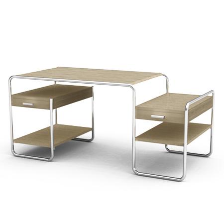 s 285 von thonet cramer m bel design. Black Bedroom Furniture Sets. Home Design Ideas