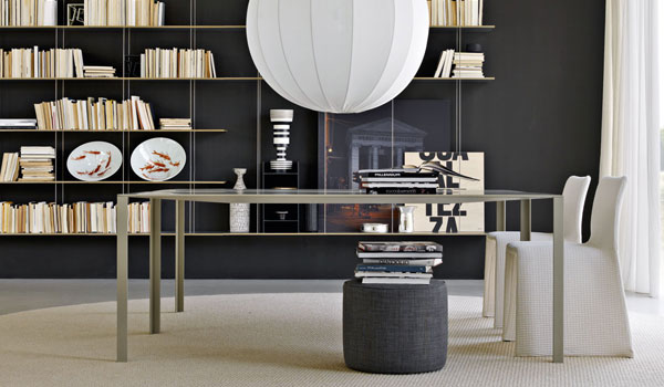 esstische less less von molteni cramer m bel design. Black Bedroom Furniture Sets. Home Design Ideas