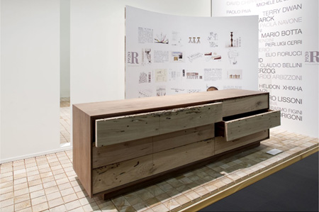 sideboards rialto briccola lowboard von riva cramer. Black Bedroom Furniture Sets. Home Design Ideas