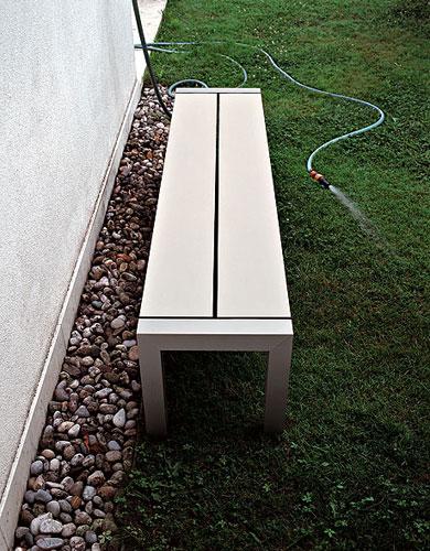 st hle sushi sitzbank outdoor von kristalia cramer m bel design. Black Bedroom Furniture Sets. Home Design Ideas