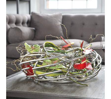 wohnaccessoires adventskr nze corona von fink cramer. Black Bedroom Furniture Sets. Home Design Ideas