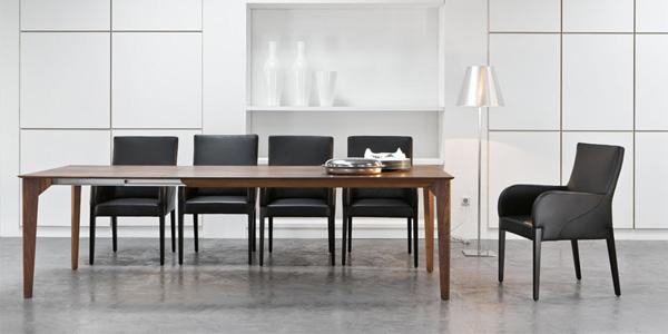esstische trio von werther cramer m bel design. Black Bedroom Furniture Sets. Home Design Ideas
