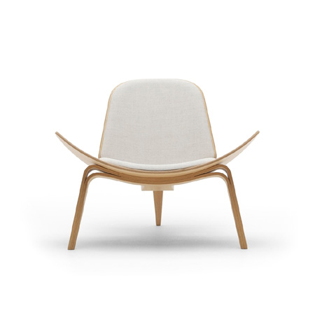 stuhlsessel ch07 the shell chair von carl hansen cramer m bel design. Black Bedroom Furniture Sets. Home Design Ideas