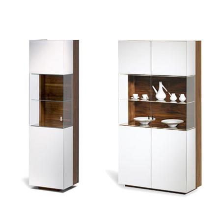schr nke cubus vitrine von team 7 cramer m bel design. Black Bedroom Furniture Sets. Home Design Ideas