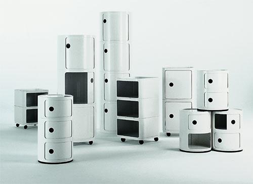container componibili 2 von kartell cramer m bel design. Black Bedroom Furniture Sets. Home Design Ideas