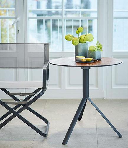 tische trio bistrotisch von weish upl cramer m bel design. Black Bedroom Furniture Sets. Home Design Ideas