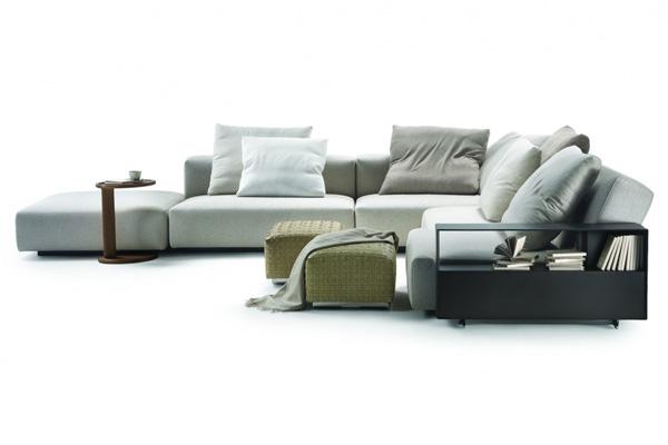 sofas lario von flexform cramer m bel design. Black Bedroom Furniture Sets. Home Design Ideas
