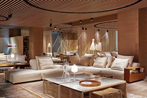 lario von flexform cramer m bel design. Black Bedroom Furniture Sets. Home Design Ideas