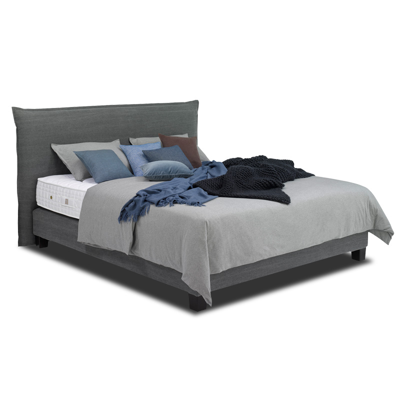 boxspringbetten 24seven smart von treca interiors paris. Black Bedroom Furniture Sets. Home Design Ideas