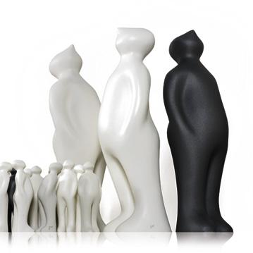 Wohnaccessoires dekoskulptur the visitor von gardeco for Designer wohnaccessoires