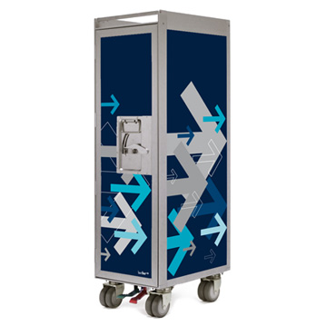 Bordbar Trolley Silver Edition Arrows