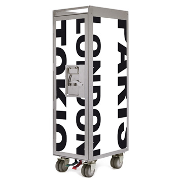 Bordbar Trolley Silver Edition City