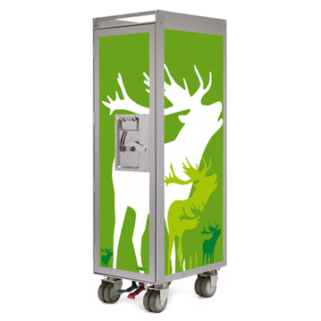 Bordbar Trolley Silver Edition Deer
