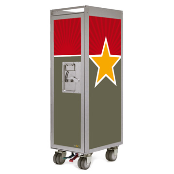 Bordbar Trolley Silver Edition Star