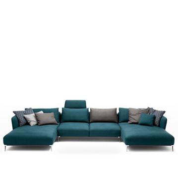 sofas scala von rolf benz cramer m bel design. Black Bedroom Furniture Sets. Home Design Ideas