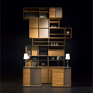 wohnw nde lux von team 7 cramer m bel design. Black Bedroom Furniture Sets. Home Design Ideas