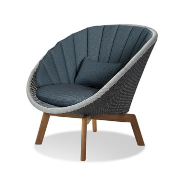 Cane-line Peacock Lounge-Sessel