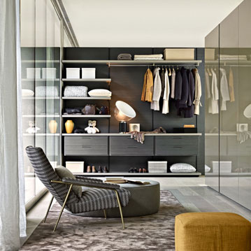 Molteni Gliss Walk-In