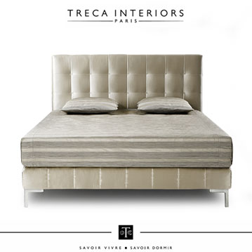 boxspringbetten prestige colette von treca interiors paris. Black Bedroom Furniture Sets. Home Design Ideas