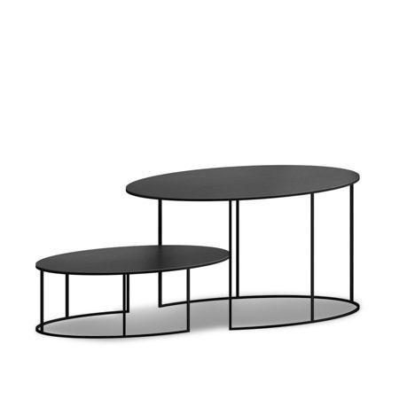 Slim Irony Couchtisch Oval Von Zeus Cramer Mobel Design