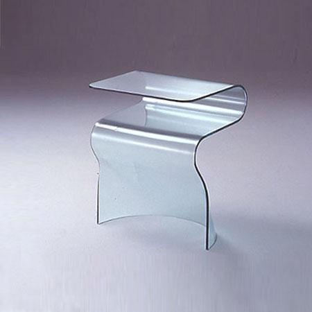 nachttisch glas trendy nachttisch antik retro landhaus. Black Bedroom Furniture Sets. Home Design Ideas
