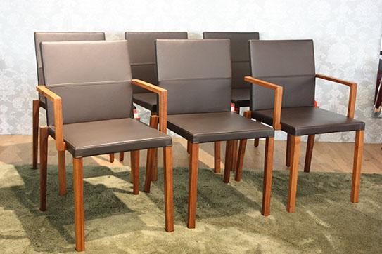 kff stuhlgruppe baltas als ausstellungsst ck im sale cramer m bel design. Black Bedroom Furniture Sets. Home Design Ideas