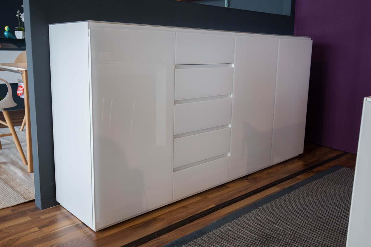 Ausstellungstück im Sale: Sideboard Atrium weiß von Cramer Holzmanufaktur für 3.290 €