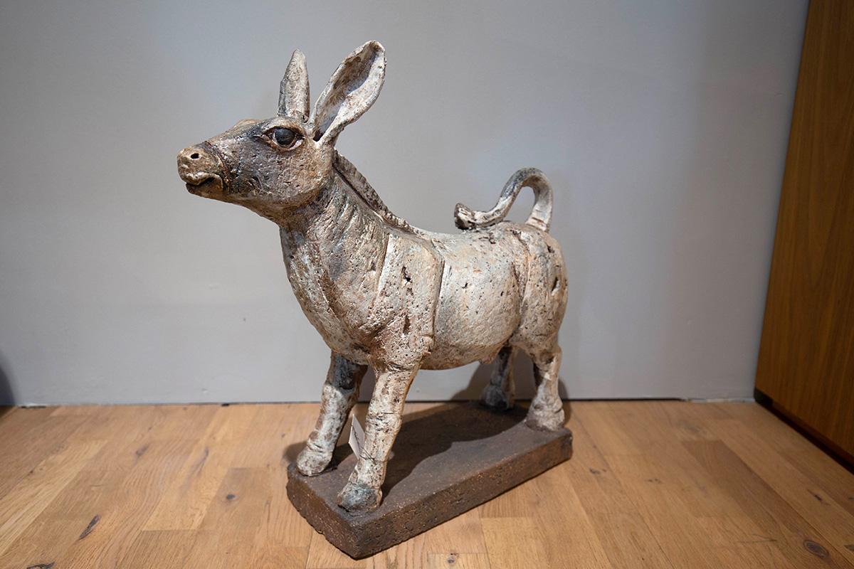 Ausstellungstück im Sale: Keramikobjekt Esel Nr. II Nr. 70 von Scholtissek für 580 €