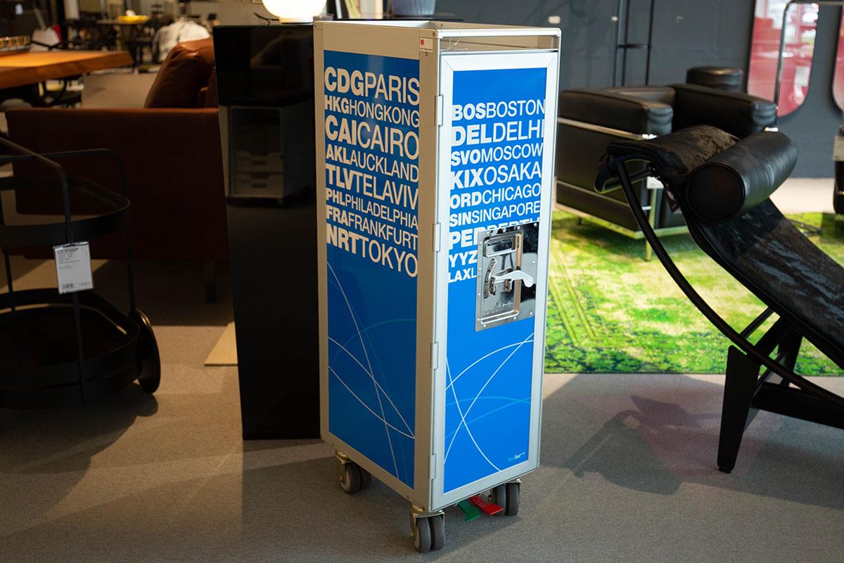 Ausstellungstück im Sale: Flugzeugtrolley Bordbar Silver Edition von Bordbar  für 1.050 €