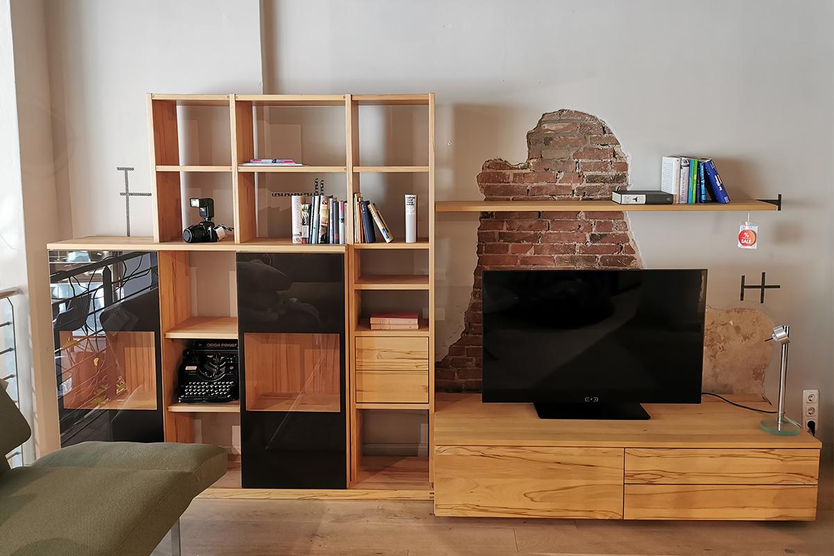 Ausstellungstück im Sale: Wohnwand Cubus  von Team 7  für 2.759 €