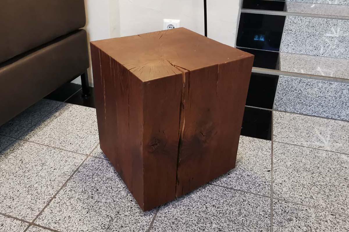 Ausstellungstück im Sale: Hocker Nox von Team7 für 370 €