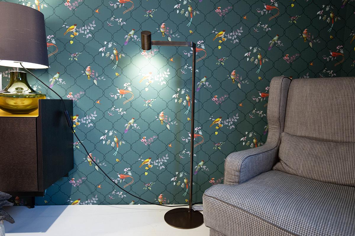 Ausstellungstück im Sale: Stehleuchte Texus von Christine Kröncke für 450 €