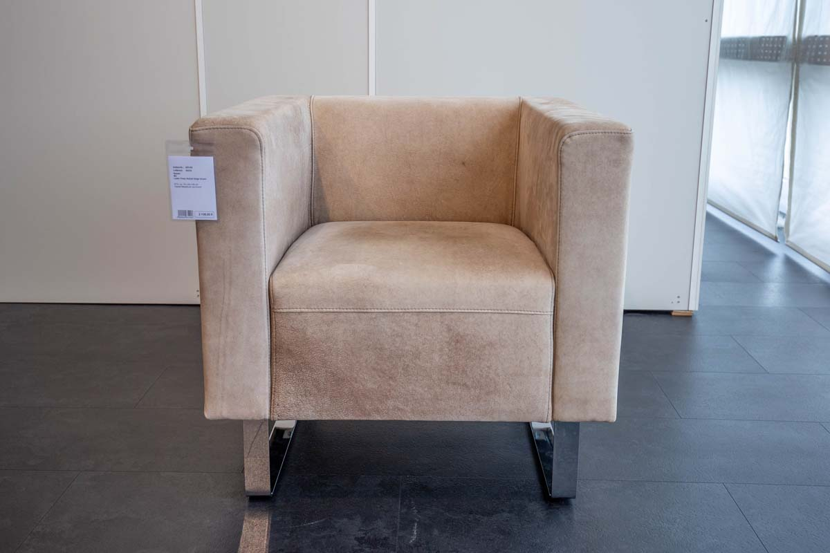 Ausstellungstück im Sale: Beistellsessel M3 von Cramer Polstermanufaktur für 998 €