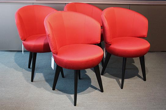 werther stuhl trick als ausstellungsst ck im sale cramer m bel design. Black Bedroom Furniture Sets. Home Design Ideas