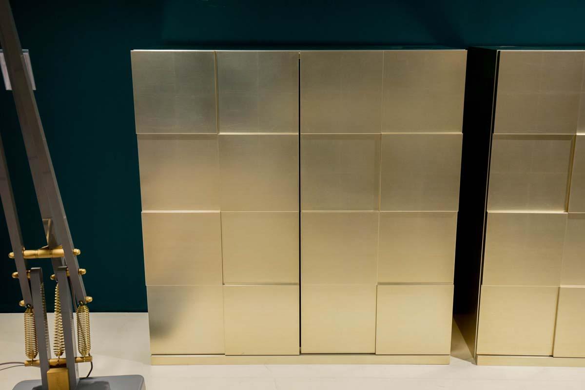 Ausstellungstück im Sale: Sideboard Quadro innen grün von Capo d'opera für 4.690 €