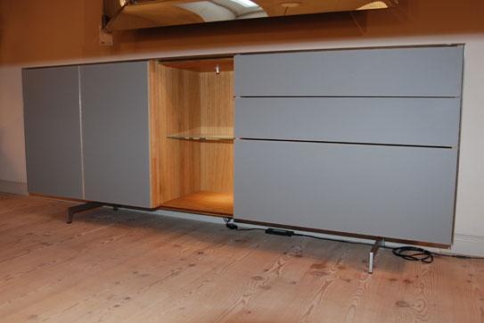 Austellungsstuck Team 7 Sideboard Cubus Pure Im Sale Cramer Mobel
