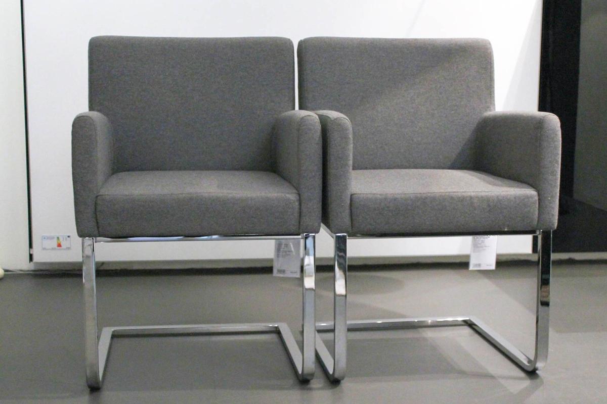Ausstellungstück im Sale: Stuhlgruppe Kristin von Cramer Polstermanufaktur für 3.990 €