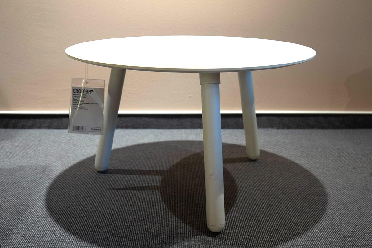 Ausstellungstück im Sale: Beistelltisch 01BCN01/CBFB von Kristalia für 279 €