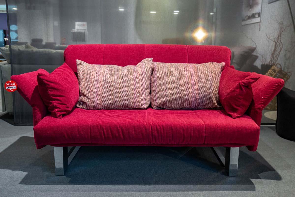 Ausstellungstück im Sale: Schlafsofa Giove Plus 2 von Cramer Polstermanufaktur für 1.990 €