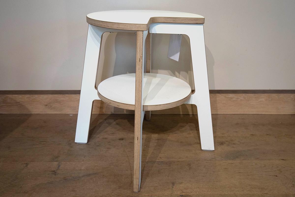 Ausstellungstück im Sale: Tritthocker Walker von Müller Möbelwerkstätten für 149 €