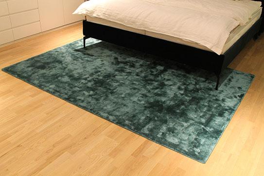 Ausstellungstück im Sale: Teppich Tencel flat von Miinu für 1.090 €