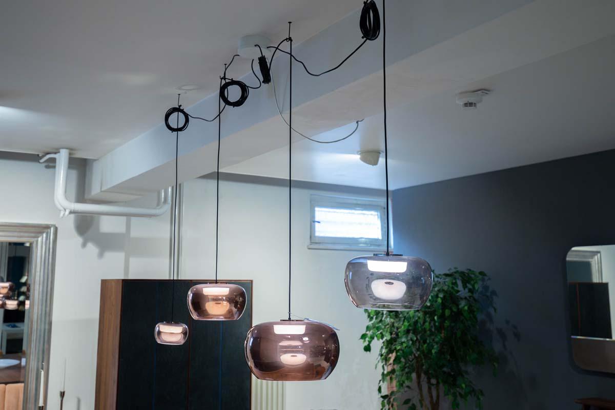 Ausstellungstück im Sale: 4er Set Pendelleuchten Wetro von Wever & Ducre für 993 €