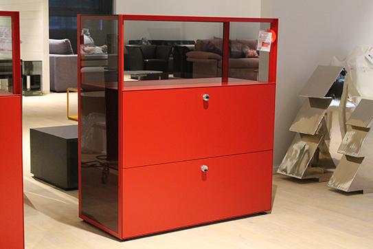 austellungsst ck piure highboard mit sch ben mesh im sale cramer m bel design. Black Bedroom Furniture Sets. Home Design Ideas