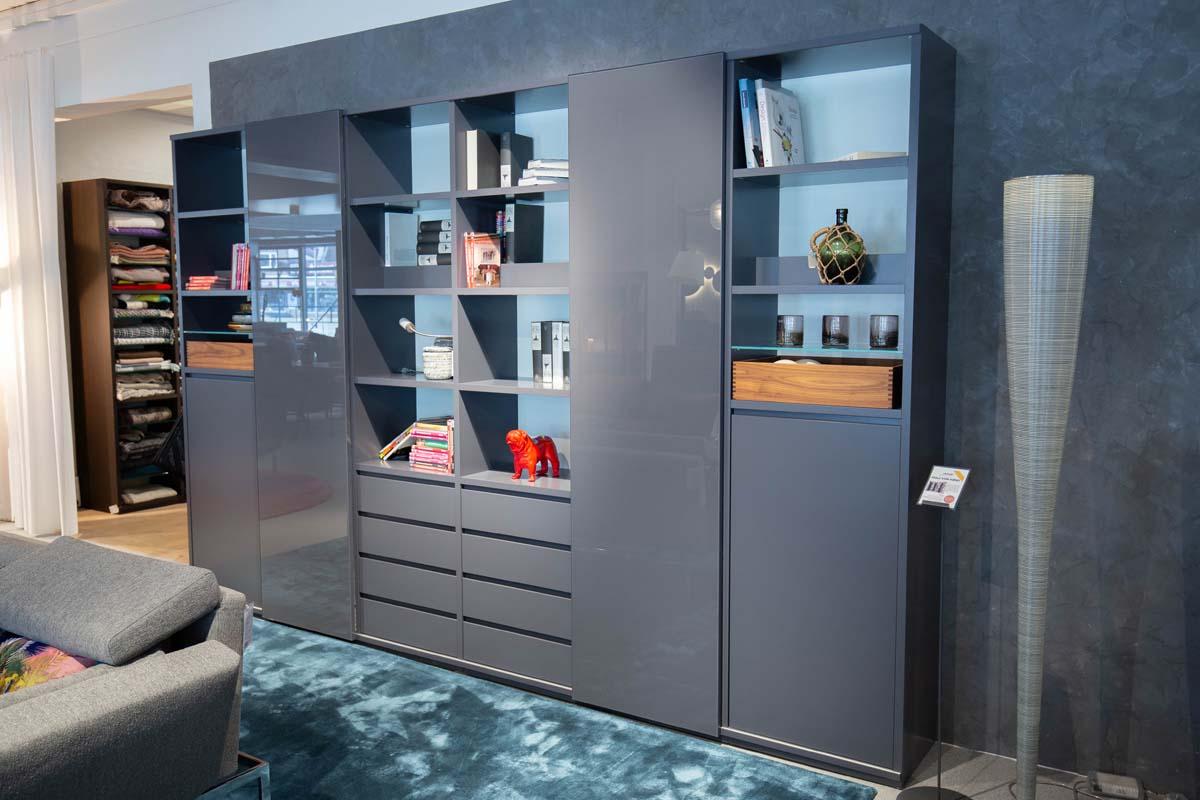 Ausstellungstück im Sale: Wohnwand Publicum von Cramer Holzmanufaktur für 5.990 €