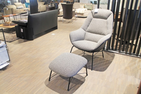 Austellungsstück: Jori Lounge Sessel mit Hocker Prelude JR